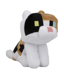 JINX Плюшевая игрушка Minecraft Happy Explorer Calico Cat Plush