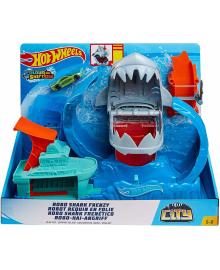 """Трек Hot Wheels """"Голодная Акула-робот» серии «Измени цвет» (GJL12)"""