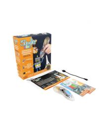 3DOODLER START 3D-ручка 3Doodler Start для детского творчества - КРЕАТИВ (48 стержней, прозрачные))