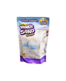 KINETIC SAND & KINETIC ROCK Песок для детского творчества с ароматом - ВАНИЛЬНЫЙ КАПКЕЙК