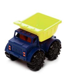 Игрушка для игры с песком - МИНИ-САМОСВАЛ (цвет лаймовый-океан) BATTAT