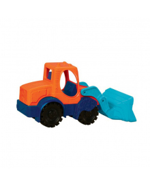 Игрушка для игры с песком - МИНИ-ЭКСКАВАТОР (цвет морской-мандариновый-океан) BATTAT