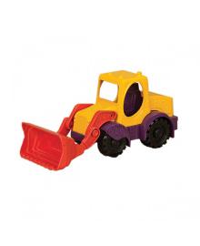 Игрушка для игры с песком - МИНИ-ЭКСКАВАТОР (цвет манго-сливово-томатный) BATTAT