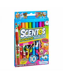 Набор ароматных маркеров для рисования - ТОНКАЯ ЛИНИЯ (10 цветов)