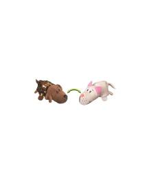 ZOOPRЯTKI FLIPAZOO Мягкая игрушка с пайетками 2 в 1 - ZooPrяtki - ЛАБРАДОР-КОТ (12 cm)