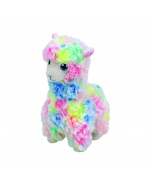 "TY Beanie Babies 41217 Разноцветная лама ""Lola""15см"