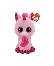 """TY Beanie Boo's 36685 Розовый единорог """"Darling"""" 15см"""