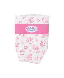 Подгузники для куклы BABY BORN (в наборе 5 шт)