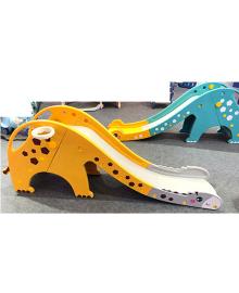 Детская горка GIRAFE-6 Жираф, желто-серая