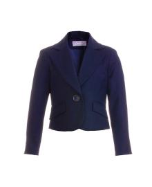 Жакет темно-синего цвета для девочки KIDS Couture 71715811120