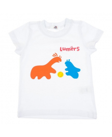 Футболка Lumers белая 91260115