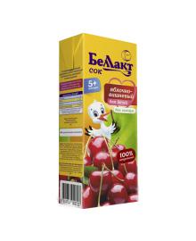 Сок Беллакт Яблочно-вишневый 200 мл
