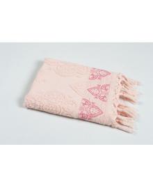 Полотенце Oliva Home Jacquard - Damask pembe розовый 50*90 (svt-2000022219068) SVTEX-svt-2000022219068