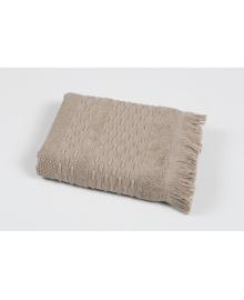 Полотенце махровое Pupila - Story brown коричневый 50*90 (svt-2000022219501) Pupilla SVTEX-svt-2000022219501