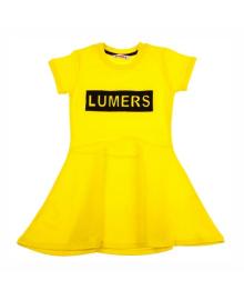 Платье Lumers желтое 10600835