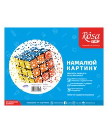 Набор Картина по номерам Rosa Start Кубик Рубика N00013186, 4823098514404
