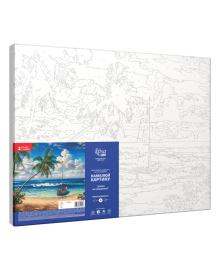 Набор Картина по номерам Rosa Start Лодка на побережье N00013239, 4823098514107