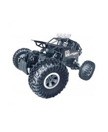 SULONG TOYS Автомобиль OFF-ROAD CRAWLER з р/к - MAX SPEED (матовый черный, металл. корпус, 1:18)