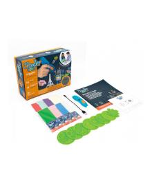 3DOODLER START 3D-ручка для детского творчества - МЕГАКРЕАТИВ (192 стержей, 8 шаблонов)