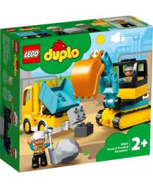 Конструктор LEGO DUPLO Грузовик и гусеничный экскаватор (10931), 5702016618204