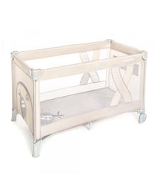 Манеж-ліжечко Baby Design SIMPLE 09 BEIGE