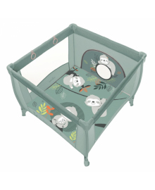 Дитячий манеж Baby Design PLAY UP 2020 04 GREEN