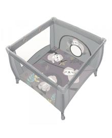 Дитячий манеж Baby Design PLAY UP 2020 07 LIGHT GRAY