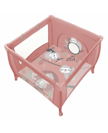 Дитячий манеж Baby Design PLAY UP 2020 08 PINK