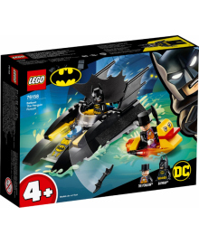 Конструктор LEGO Super Heroes Погоня за Пингвином на Бэткатере (76158), 5702016619379