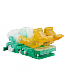 Машинка-трансформер Screechers Wild S2 L1 Фроузэн Сноу Screechers Wild! EU684202, 6911400392647