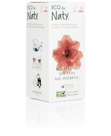 Органические ежедневные прокладки Eco by Naty Large 28 шт