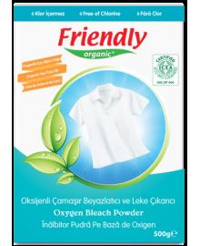 Органический кислородный порошок для удаления пятен Friendly Organic 500 гр