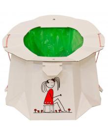 Одноразовый биоразлагаемый  детский горшок TRON
