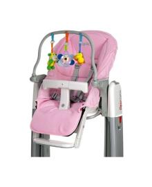 Набор дополнительных элементов для стульчика-качалки Tatamia (розовый) Peg-Perego IKAC0009--IN29, 8005475360941
