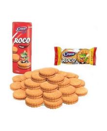 Печенье Croco Roco с кремово-шоколадной начинкой, 150 г