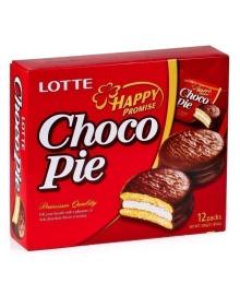 Пирожное Lotte Choco Pie 12 шт., 336 г