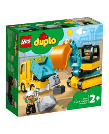 LEGO® DUPLO® Грузовик и гусеничный экскаватор 10931