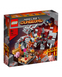 LEGO® Minecraft™ Бой за червонокаминь 21163, 5702016618303