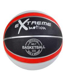Баскетбольный мяч Shantou № 7 черно-белый