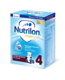 Смесь Nutrilon Premium 4, 600 г