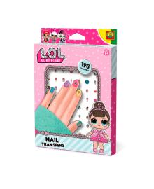 SES CREATIVE Набор наклеек для ногтей серии L.O.L SURPRISE! - МОДНЫЙ ЛУК