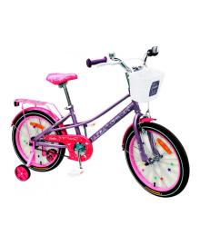 LIKE2BIKE Eveline Велосипед детский 2-х колес.18'' (фиолетовый)