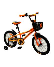 LIKE2BIKE Neos Велосипед детский 2-х колес.18'' (оранжевый)
