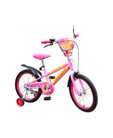 "LIKE2BIKE Sprint Велосипед детский 2-х колес. 18"" (розовый)"