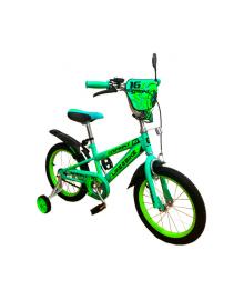 """LIKE2BIKE Sprint Велосипед детский 2-х колес. 18"""" (зеленый)"""