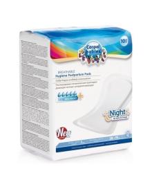 Ночные послеродовые прокладки дышащие Canpol Babies, 10 шт.