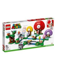 LEGO® Super Mario™ Поиск сокровищ с Тоад.дополнительный уровень 71368