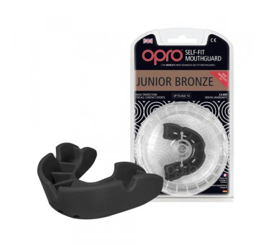Капа OPRO Junior Bronze Black (art.002185001) art_002185001