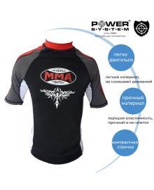 Рашгард Power System 004 Scorpio L Red/Black MMA-004_L_Red-Black