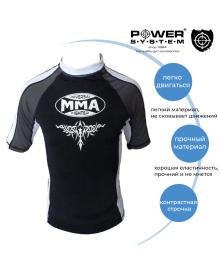 Рашгард Power System 003 Scorpio L Black/White MMA-003_L_White-Black